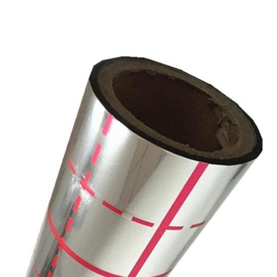 Metalized Pet Film Fiberglass Cloth Laminated Aluminum Foil
