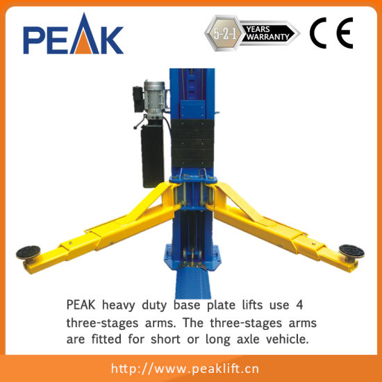 Heavy Duty Long Warranty Twin Columns Automotive Hoist (212) pictures & photos