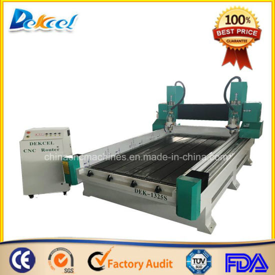1325 CNC Stone Engraving Router machine Tombstone Marble Letter 3D Reliefing Carving pictures & photos