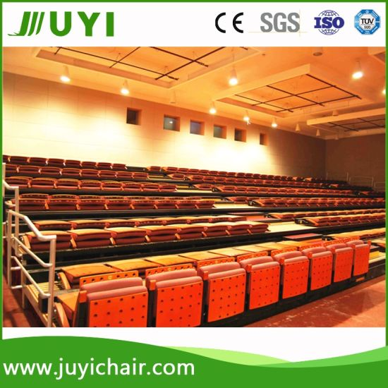 Jy 780 China Supplier Factory Price Indoor Theater Bleacher Seating With Backs China Bleacher Seating Retractable Seating System