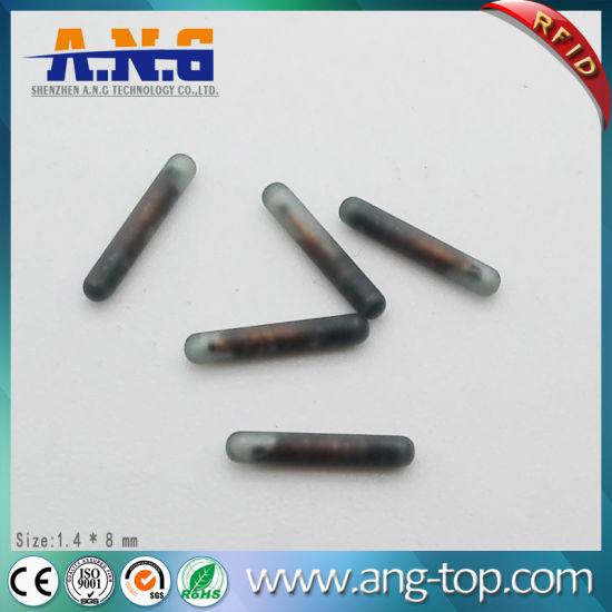 China Em4305 Lf RFID Glass Tube Tag for Animal