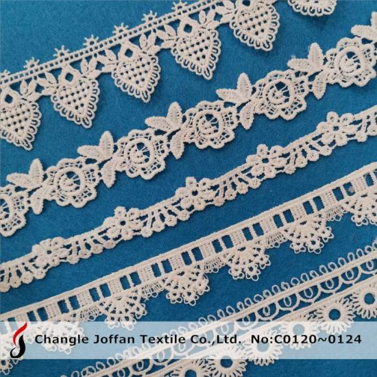 Wholesale Water Soluble Chemical Lace Guipuer Lace for Dress Material (C0120)