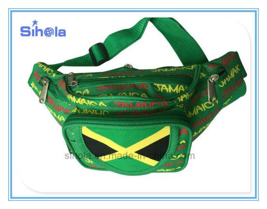 c146fb0efde Custom Pattern Print Jamaica Flag Cheap Trendy Travelling Chest Bum Bag,  High Quality Outdoor Hiking Fanny Pack Sport Waist Bag