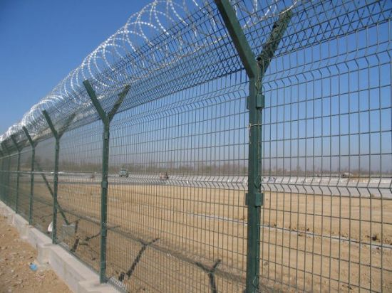 China Garden, Sports and Villa Fence/ PVC Coated Welded Wire Fence ...