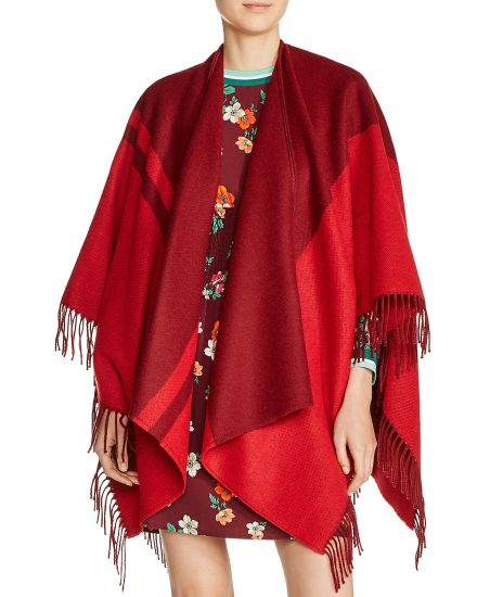 Winer Warm Women Fashion Design Poncho Scarf