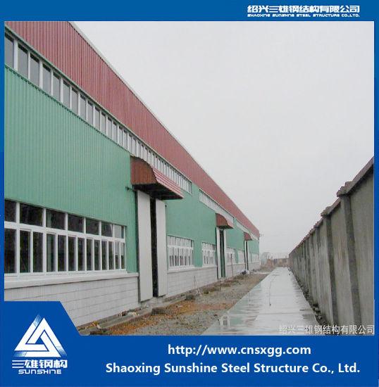Fast Installation Prefabricated Steel Structure Workshop