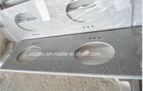 China Granite G603 Light Grey Color Granite Countertopskitchen Tops