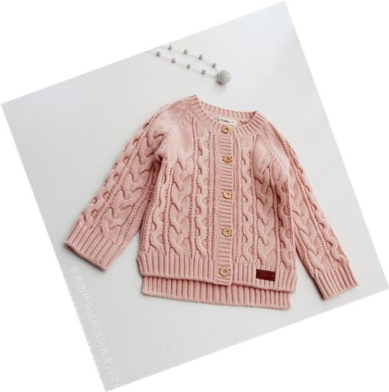 e74cd155c China Kid′s Pullover Candigan Button Knitted Sweater - China Girl′s ...