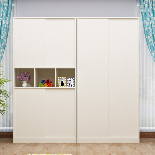 China Modern Sliding Doors Bedroom Closet Garderobe Wardrobe China