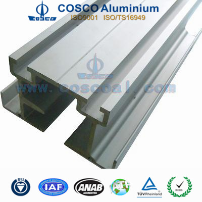 Extruded Aluminum Profile with CNC Machining for Industrial Equipment pictures & photos