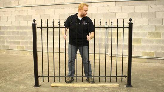Elegent Interior Wrought Iron Metal Curved Stair Railings/ Handrails Design