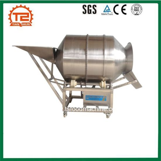 Food Seasoning Equipment Spice Coating Machine for Potato Chips pictures & photos