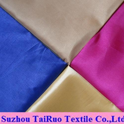 100% Poly Taffeta for Garment Linging Fabric