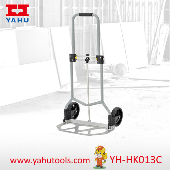 Folding Convertible Hand Trolleys with Aluminium Platform