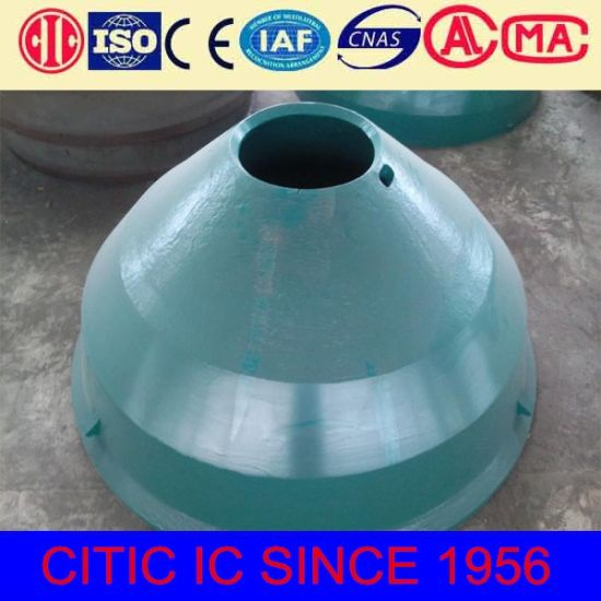 Rolling Mortar Wall Cone Liner Metso Crusher Parts pictures & photos