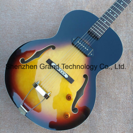 L5 Archtop Electric Hollow Body Jazz Electric Guitar (GJ-36) pictures & photos