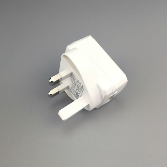 China UK Plug 5V 1A 2A AC DC Power Adapter with CB Certification ...