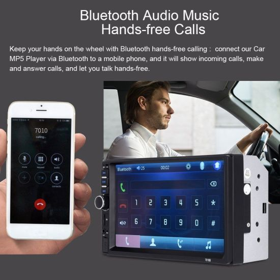China Car Video Player With 7 Inch Screen Bluetooth Fm Radio China