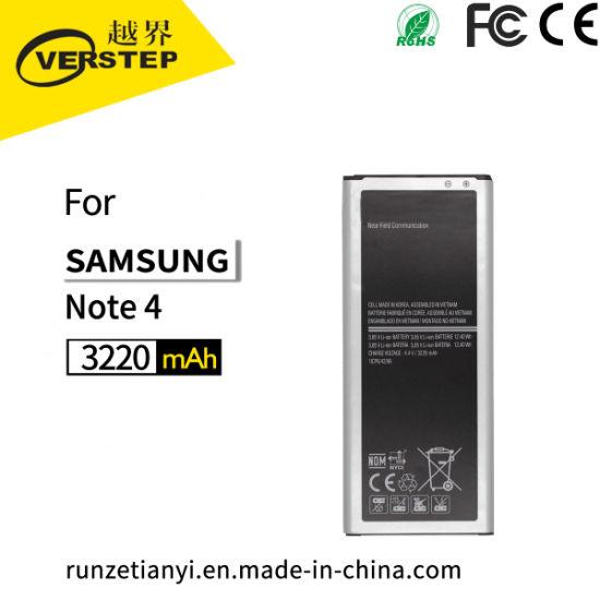 New OEM Note 4 N910 Eb-Bn910bbz Eb-Bn910bbe Eb-Bn910bbu Battery for Samsung  Galaxy