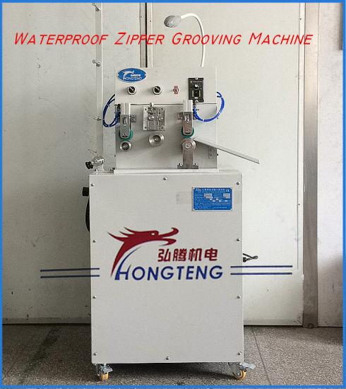 PVC Waterproof Zipper Grooving Machine Seam Sealing Machine