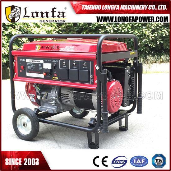 Original Honda Gx390 Engine Powered 8.5kw Honda Generator