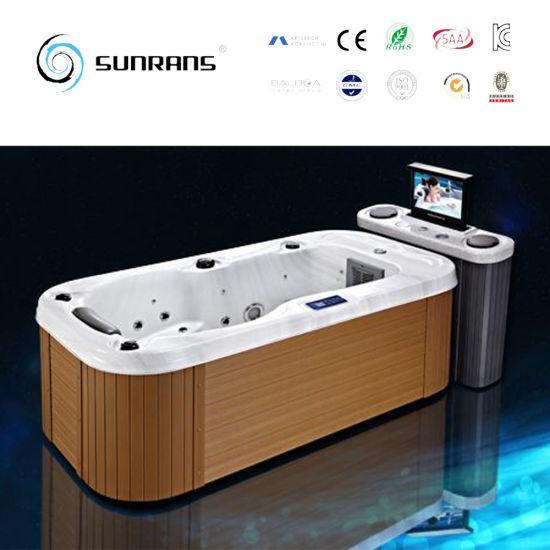 China Portable Wooden Mini Indoor Single Person Hot Tub China Single Person Hot Tub One Person Hot Tub