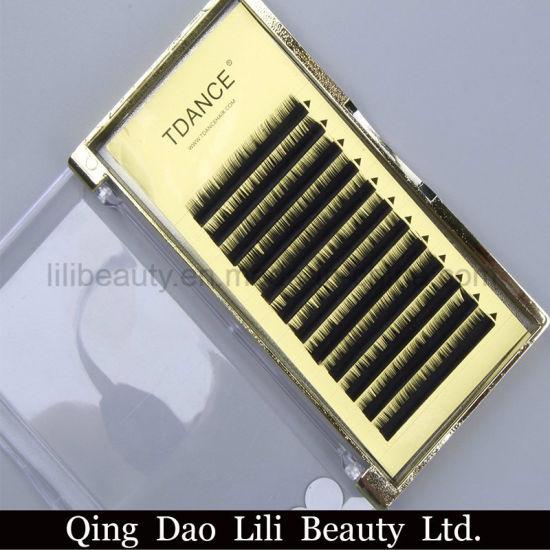 b594908dff2 Korea PBT Silk Eyelash Extension Thick Individual Lash Extension pictures &  photos