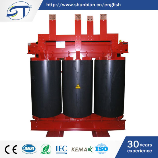 China 11kv Three-Phase Step Down Dry Type Cast Resin