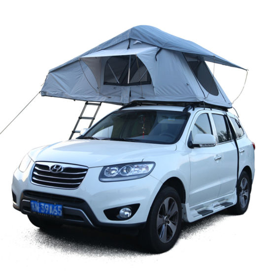 4X4 off-Road Soft Canvas Roof Top Tent for C&ing Hiking  sc 1 st  Beijing Unistrengh International Trade Co. Ltd. & China 4X4 off-Road Soft Canvas Roof Top Tent for Camping Hiking ...