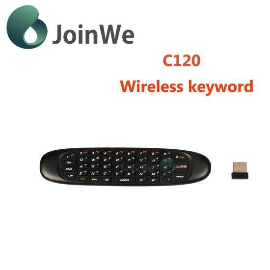New Design High Quality 360 Degree Control C120 Wireless Keyboard pictures & photos