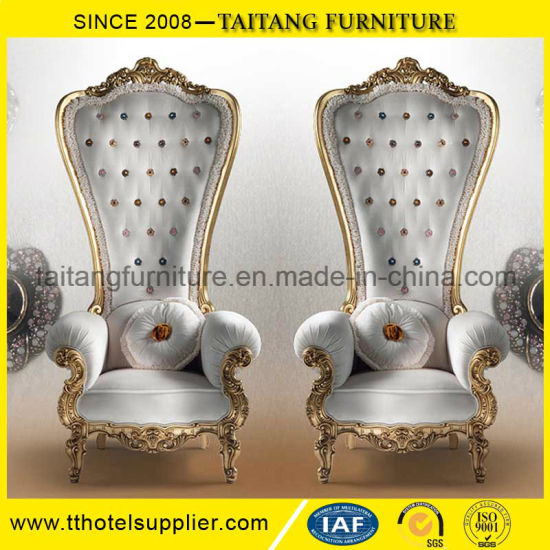 Delightful Chinese Factory Decorating King Chair King Throne