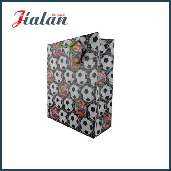 Gift Paper Bag with PP Rope Handle in Europe Market pictures & photos