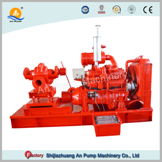China High Pressure Centrifugal Fire Fighting Diesel Water