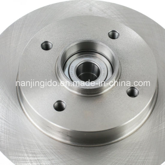 Brake Disc Rotor Assembly with Wheel Hub Bearing for Peugeot 307 4246z9 4246. Z9 pictures & photos