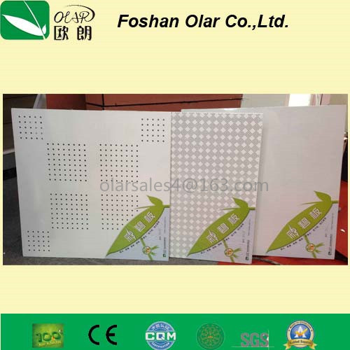 Acoustic Fiber Cement Ceilingboard--Calcium Silicate Board pictures & photos