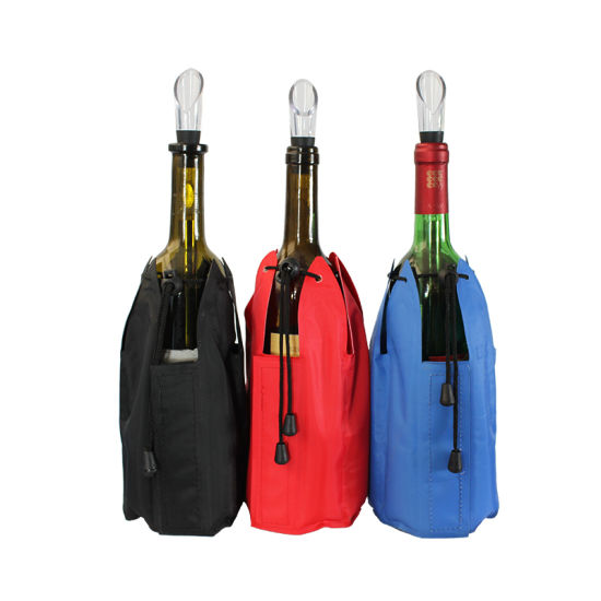 Wine Bottle Cooler Gel Ice Bag Cool Pack pictures & photos