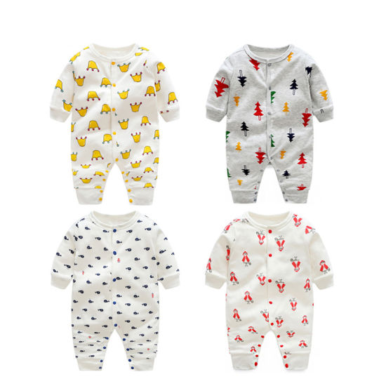 Bkd 2018 Hot Sell Organic Cotton Baby Rompers Wholesale Baby Clothes