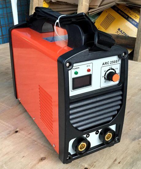 220V/380V/180A, 180 Case, DC Inverter, IGBT Tube Portable Arc Welding Machine Welder-Arc250