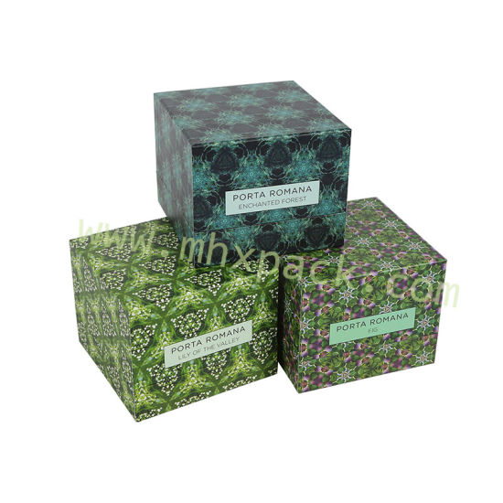 Promotional Paper Packaging Candle Gift Box