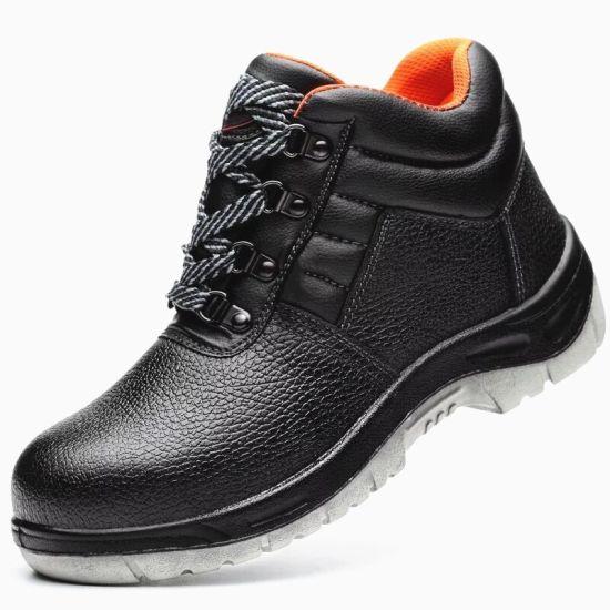Safety Footwear Industry Men Shoes Steel Toe Steel Sole
