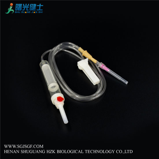 Medical Disposable Sterile Blood Transfusion Infusion Set CE