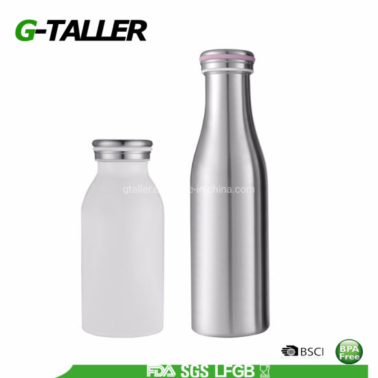 Travel Thermo Insulated Stainless Steel Milk Bottle