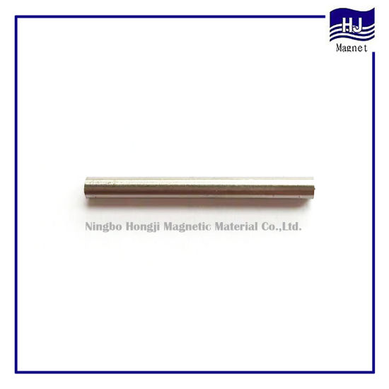 Long Strip Cylinder Permanent Magnetic Material Sintered AlNiCo Magnet