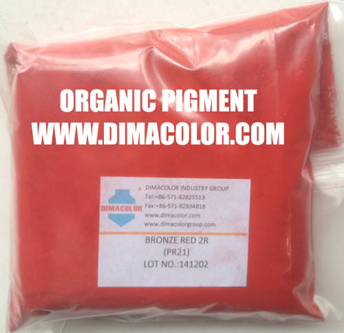 Pigment Red 21 Bronze Red 2r (PR21) for Paint Coating