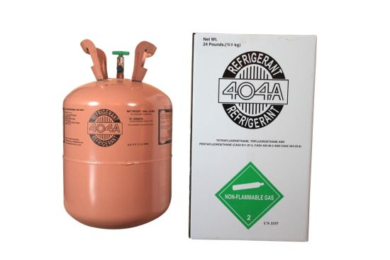 R404 Empty Factory Directly Sell Mixed Refrigerant Gas Cylinder Replace for Car Refrigerant