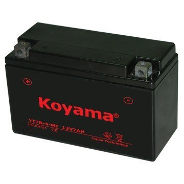 12V 7ah AGM Battery Maintenance Free Motorcycle Battery Yt7b-4 pictures & photos