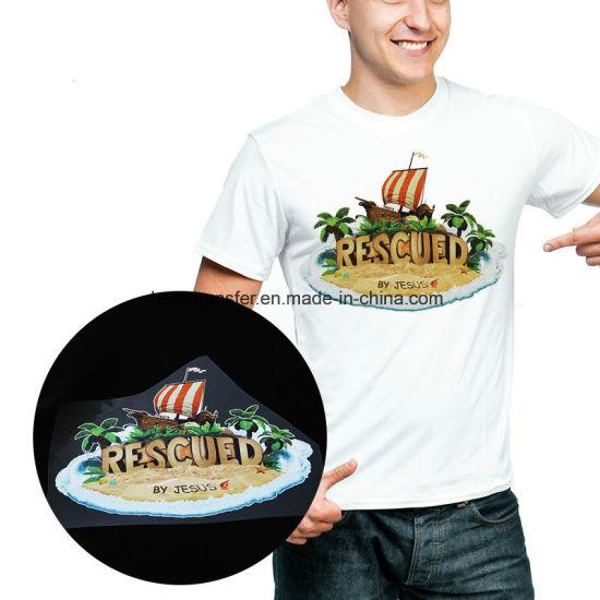 9d1f7a81 China T Shirt Plastisol Heat Transfers Custom Printing Stickers ...