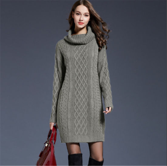 OEM/ODM Fashion Autumn Winter Women Fancy Pullover Sweater