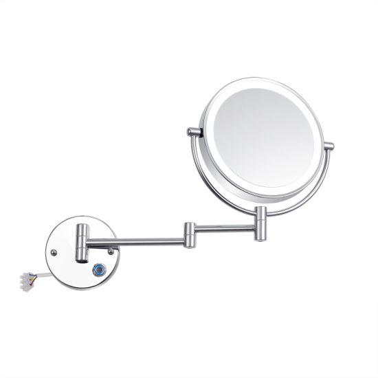 Home Furniture General Use Bathroom Vanity Led Mirror For Men China Bathroom Hinged Wall Mirror Rotating Bathroom Mirror Made In China Com