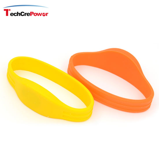 China Custom 125kHz RFID Silicone Medical ID Bracelets